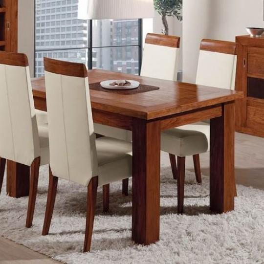 Mesa de comedor sunkai extensible 2023 muebles saskia en - Mesas de madera extensibles comedor ...
