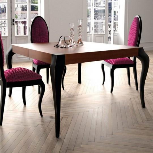 Mesa de comedor gora 140 extensible 9340 muebles saskia for Ver mesas de comedor
