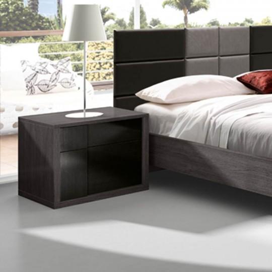 Mesita de noche 3114 3114 p54 muebles saskia en pamplona - Mesitas noche modernas ...