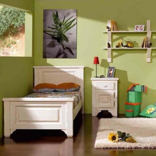 Mesita de noche r stica 1121 muebles saskia en pamplona - Mesitas de noche rusticas ...