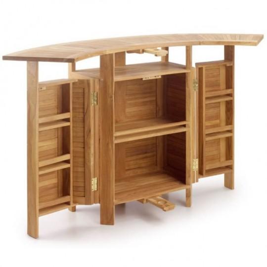Barra bar teka 9111 muebles saskia en pamplona for Mueble barra bar