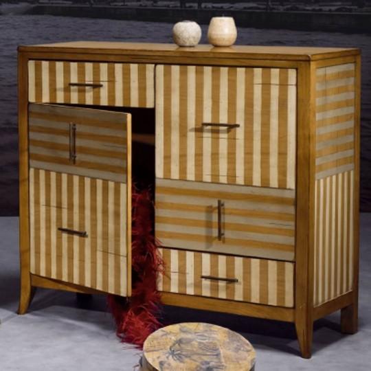 Recibidor entrada vintage barbe noire muebles saskia en - Muebles de entrada vintage ...