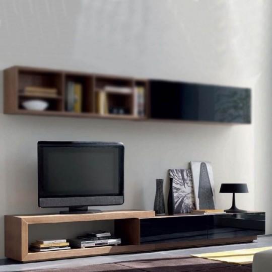 Mueble tv mistral 280 mt13 muebles saskia en pamplona for Muebles para television de madera modernos