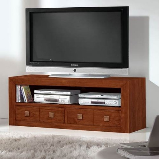 mueble tv colonial