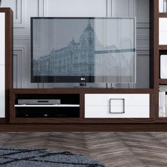 Mueble tv 150 z900 muebles saskia en pamplona for Bauhaus mueble zapatero