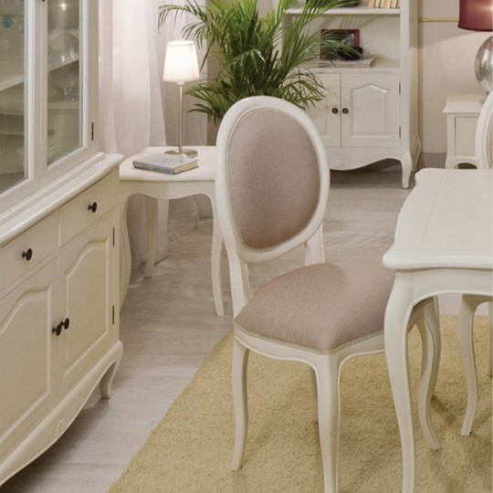 Silla par s tapizada 940930 muebles saskia en pamplona - Sillas estilo provenzal ...