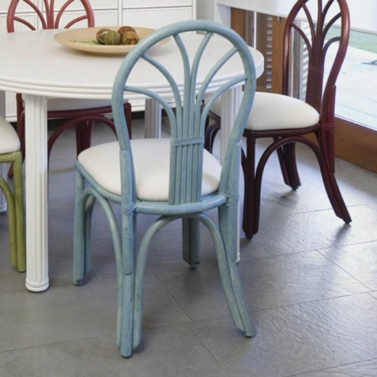 Silla ratt n 0314 1 muebles saskia en pamplona for Sillas rattan comedor