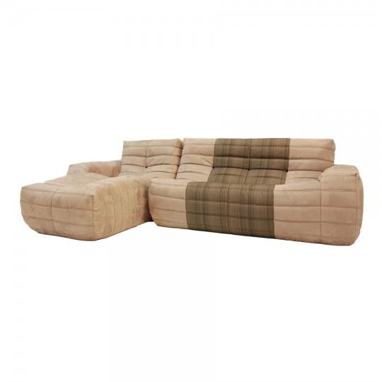 Sofá Oruga de Temas V, muy ligero y cómodo.