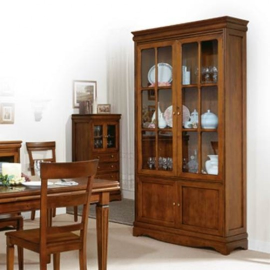 Vitrina cl sica 3618 muebles saskia en pamplona - Vitrina de comedor ...