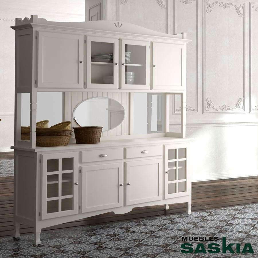 Mueble Comedor Platero 4 Puertas Decco G1137 Muebles Saskia En  # Muebles El Canario