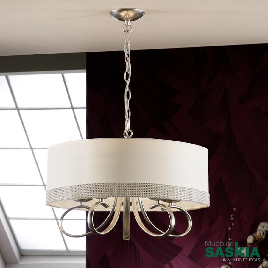 Lámpara adela plata 5l