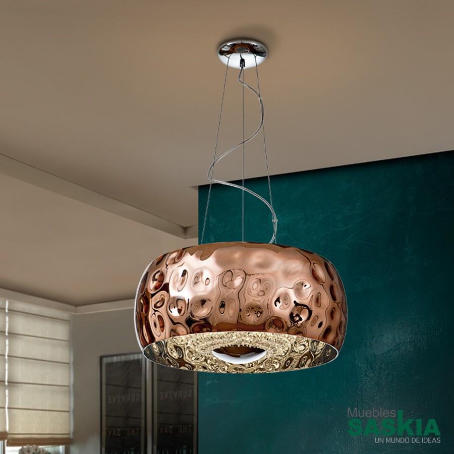 Lámpara fluvio cobre diámetro 50