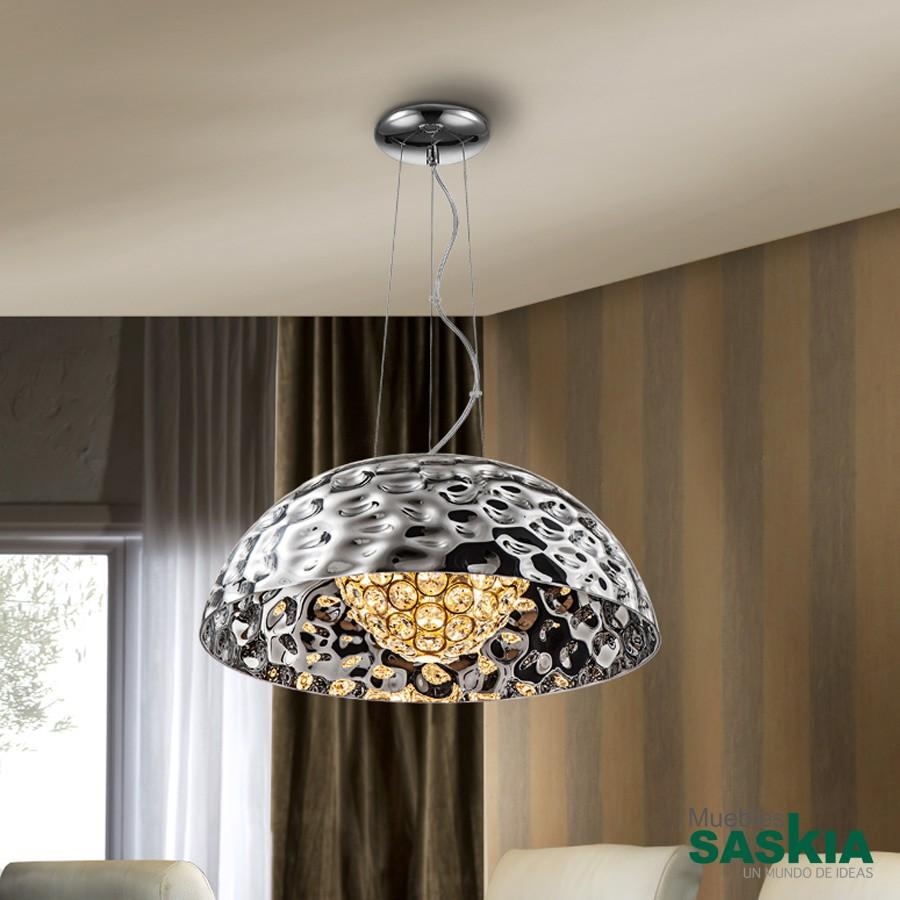 Lámpara mare cromo 5g9 diámetro 53