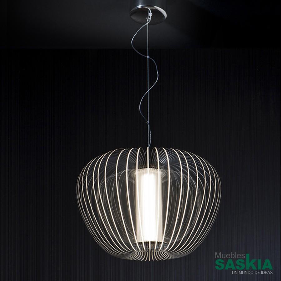 Lámpara cross 43 cromo diámetro 43