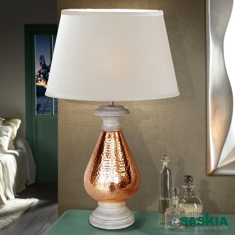 Lámpara de sobremesa ishara1l cobre diámetro 40