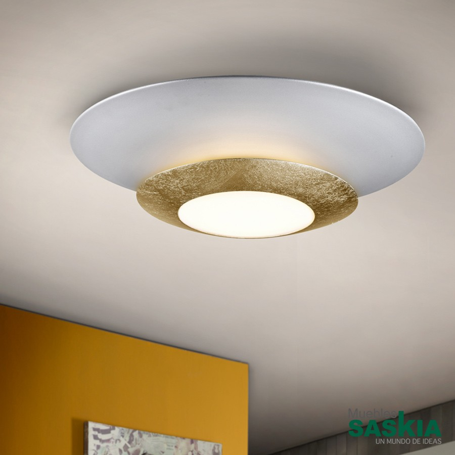 Lámparas led hole oro diámetro 42
