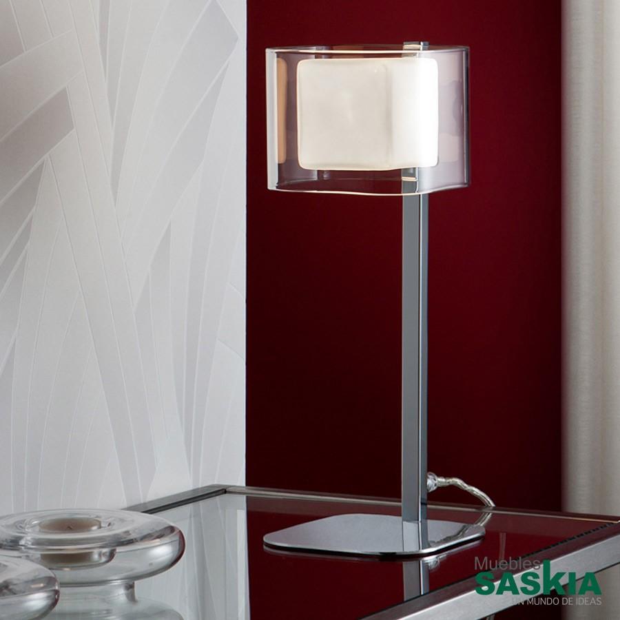 Lámpara de sobremesa cube 1 l