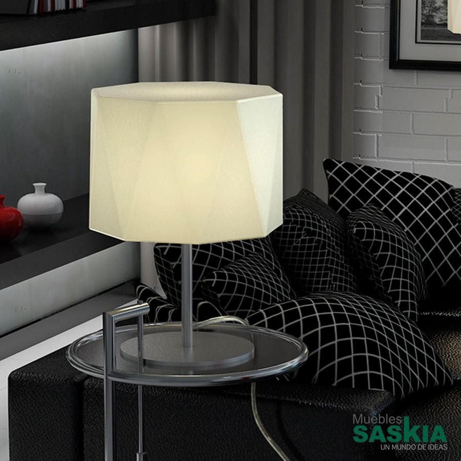 Lámpara de sobremesa timor c/pantalla