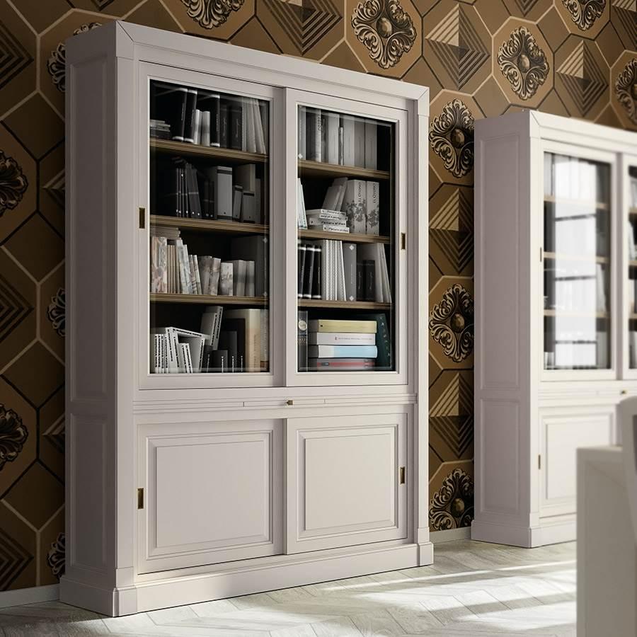 Contempor Neo La Ebanisteria Muebles Saskia En Pamplona ~ Libreria Con Puertas De Cristal