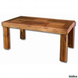 Mesa de comedor colonial rectangular de 150