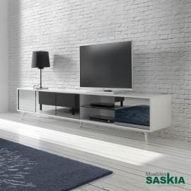 Mueble tv-1403F-BLANCO