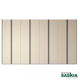 Armario moderno arena/tórtora 10 puerta batiente