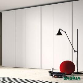 Armario moderno blanco 11 puerta batiente