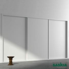Armario moderno blanco14 puerta correderas