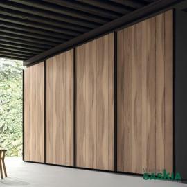 Armario moderno niágara con puertas correderas