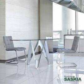 Mesas de comedor-b063-130-gris