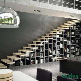Composición de escaleras