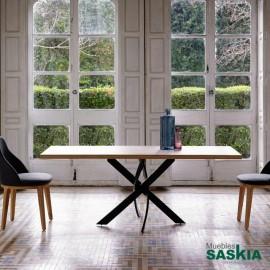 Mesas de comedor-f2133-180x95-negro