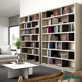 Librería moderna ancha