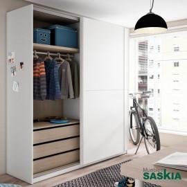 Armario juvenil para dormitorio moderno