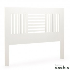 Cabezal barrotes horizontales verticales para cama de 150