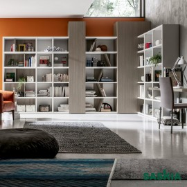 Estantería moderna, mueble actual