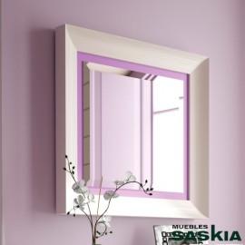 Espejo de 66x63 basilea