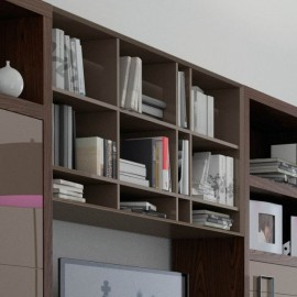 Librería suspendida Bauhaus 940