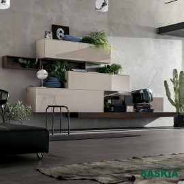 Mueble moderno, madera noble