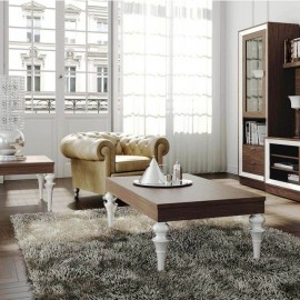 Mesa de centro elevable vintage 071
