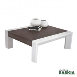 Mesa de centro double Walnut.