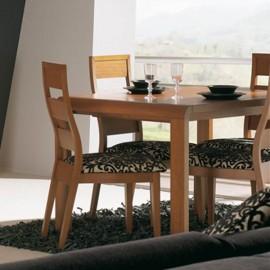 Mesa de comedor extensible Iroko