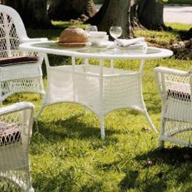 Mesa de comedor jardín