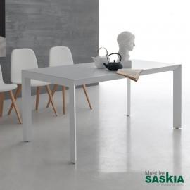 Mesa de comedor moderna extensible modelo tratto