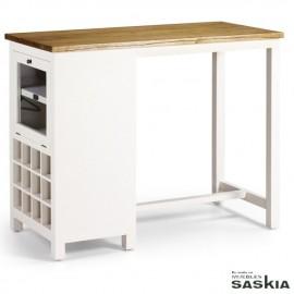 Mesa/Mueble bar con botellero