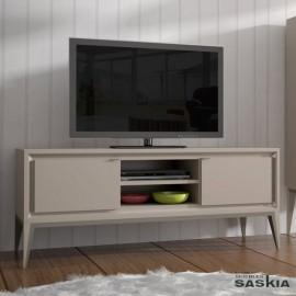 Mueble tv 2 puertas lisas