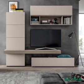 Muebles de salón color crema