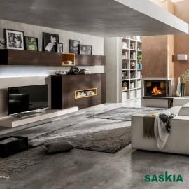 Composición de muebles de salón moderno