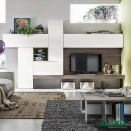 Mueble de salón tendencia, blanco madera