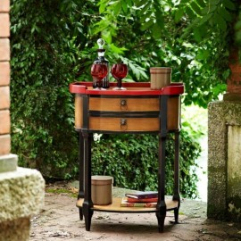 Mesa de rincón Vintage 110